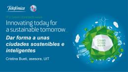 Avanzar en ciudades sostenibles inteligentes…