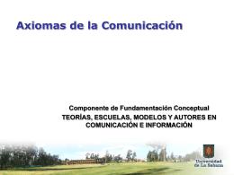 5. COMUNICACION HUMANA AXIOMAS PALO
