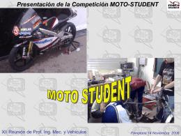 Presentación de la Competición MOTO
