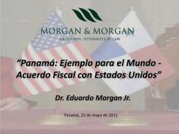 Noviembre 30, 2011 - Eduardo Morgan Jr.