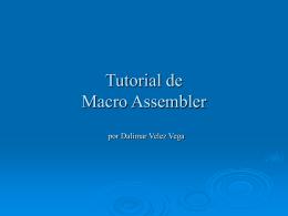 Tutorial de MacroAssembler
