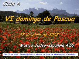 Domingo 6 de Pascua A III ppt