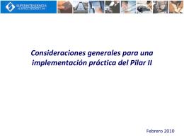 ICAAP - Superintendencia de Banca y Seguros