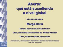 Aborto con medicamentos