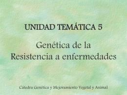 Clase 3 - TP Resistencia a enfermedades Mejoramiento de la res