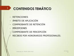 RETENCIONES-PERCEPCIONES-RECIBO POR HONORARIOS