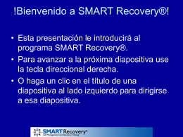 Introduction to SMART Recovery