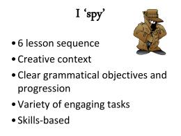 I `spy`