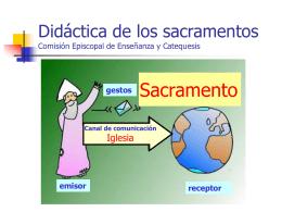 Didáctica de los sacramentos