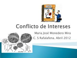 Conflicto de Intereses 01