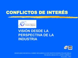 conflictos de intereses - Superintendencia de Valores y Seguros