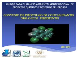 Bifenilos Poli-Clorados PCB`S - Programa de las Naciones Unidas