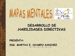 Mapas mentales - Facultad de Ingeniería, UNAM. Desarrollo de