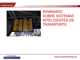 sistemas inteligentes de transporte