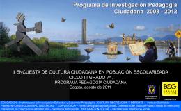 Cultura Ciudadana Presentación
