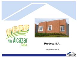 Prodesa SA