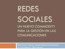 María Pastora Sandoval – Gerenta Optimista Comunicaciones
