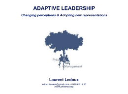 Leadership - Philosophie Management