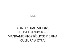 VIII. Contextualización