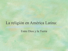La religión en América Latina: