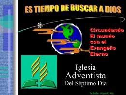 Para Pensarlo - Iglesia Adventista del Septimo Dia