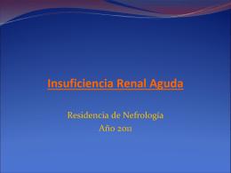 AKI 2011 - Blog de la Residencia de Clínica