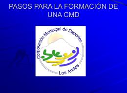 IMPORTANTE: Revisar las organizaciones deportivas de la comuna