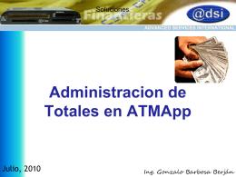Ventajas ATMApp