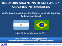 Sector Software en la Argentina