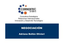 definición y características de la negociación