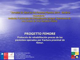 Protocolo de rehabilitación precoz de los pacientes operados por