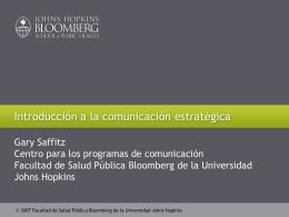 La comunicación estratégica