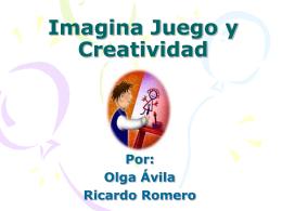 Imagina Juego y creatividad