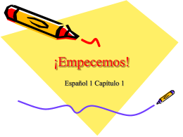 ¡Empecemos! - mssalswikipage