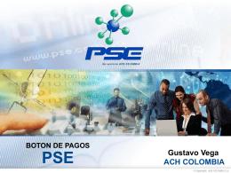 BOTÓN DE PAGOS – PSE