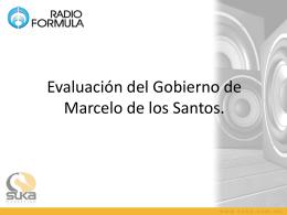 SEMANA 3 Evaluación del Gobernador Marcelo de los Santos