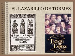 EL LAZARILLO DE TORMES - Marcelina