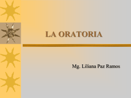 LA ORATORIA