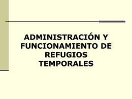 OBJETIVO Refugio Temporal