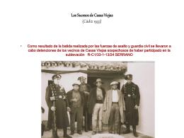 Los Sucesos de Casas Viejas (Cádiz 1933)
