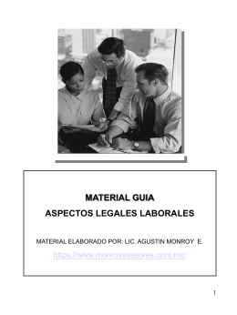 MATERIAL GUIA LEGAL LABORAL