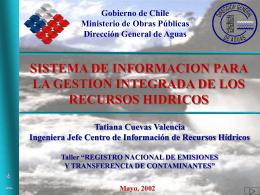 Sistema de Información para la Gestión Integrada de los Recursos