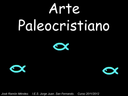 Arte Paleocristiano. Iconografía