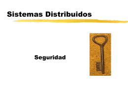 Seguridad - Departamento de Sistemas e Informática
