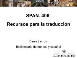 SPAN. 406