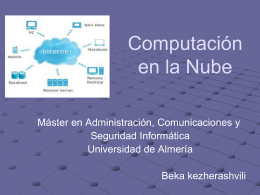 Computacion en la Nube - Administración de Sistemas Operativos