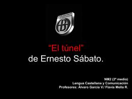 """Explicación de la novela """"El túnel"""" de Ernesto Sábato."""