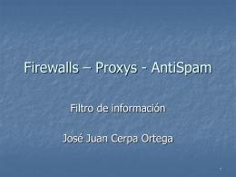filtros - Servidor de Información de Sistemas Operativos