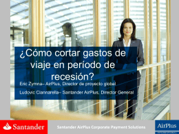 Santander AirPlus Corporate Payment Solutions