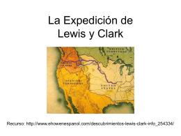 La Expedición de Lewis y Clark